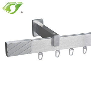 STARDECO pvc package flexible metal alumin track guangdong curtain sliding rail for truck+hanger curtain track