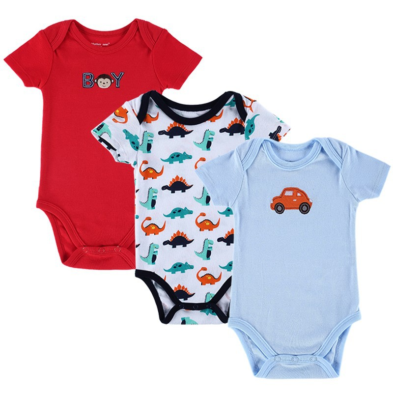 cd4f0d7f3 2016 Newly 3 Pcs lot Baby Bodysuit Girls and Boys Summer Baby Girls ...