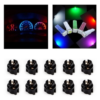 1 SMD Auto LED Lamp 5050 T5 Car LED Indicator Light Car Dashboard Light PA