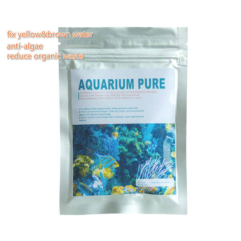 Live aquarium aquarium filter media voor plastic vis kom