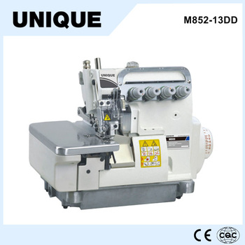 M852 13dd direct drive 4 fil pegasus machine coudre for Machine a coudre 4 fils