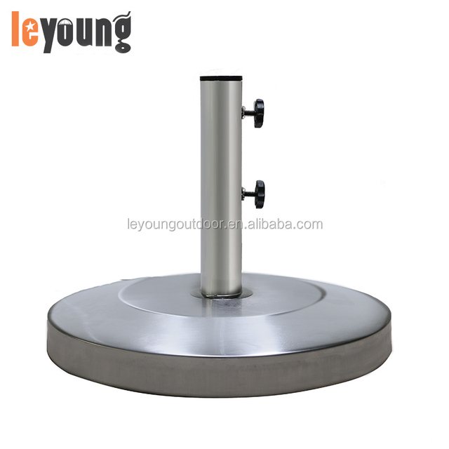 Sturdy Stainless Patio Umbrella Stand Base