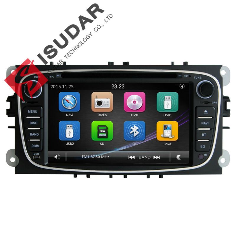 HD 7 Inch Car DVD For FORD FOCUS/MONDEO/S-MAX/CONNECT With 3G Host PIP GPS FM