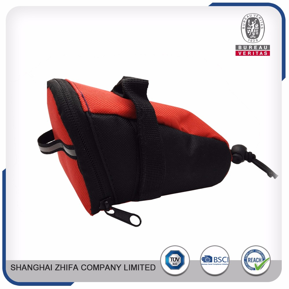Latest new model factory promotion price wheel cycling bike saddle bags waterproof frame bag