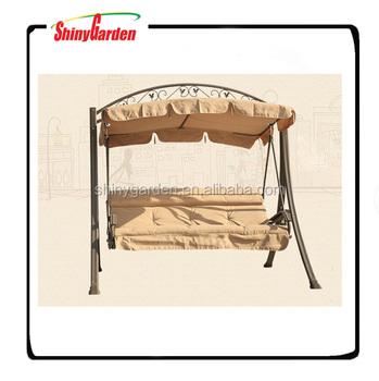 Durable Patio Garden Swing Chair Bed Deluxe Steel Swing Buy Garden