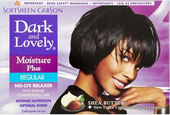 Softsheen Carson S Dark Lovely Moisture Plus Regular No Lye