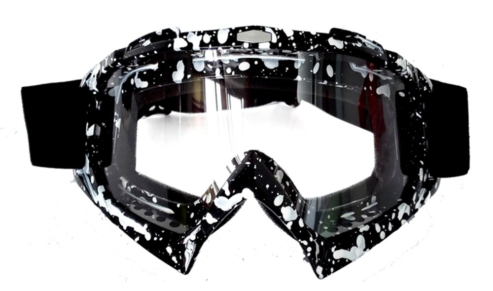 Mosaic Graphic Motorcycle Goggle Motocross Glasses Cycling Protective Glasses YH02