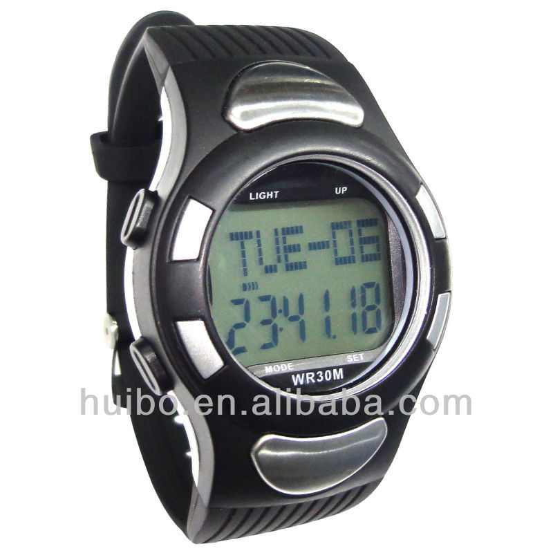 PC2008 heart rate monitor watch