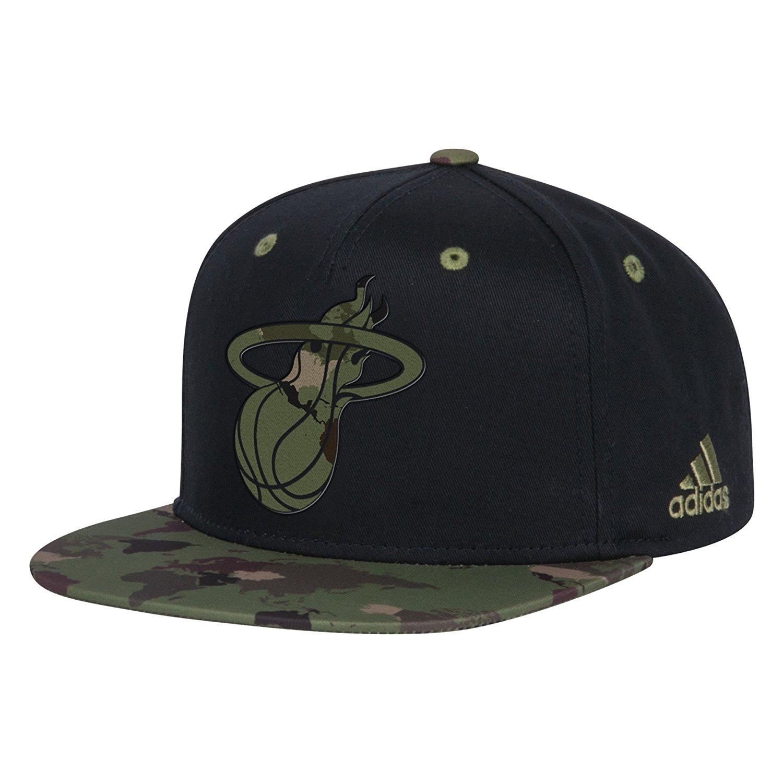 Get Quotations · NBA Men s Camo Flat Brim Snapback Cap bda346f4603