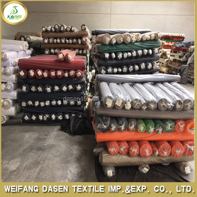 China Cheap Fabric Stock Lot Print/ Dyed /denim Fabric Wholesale ...