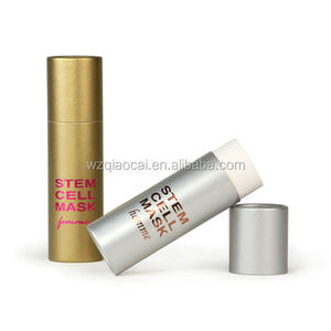 cardboard cosmetic lip balm packaging tube high quality