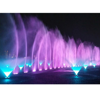 Small mini programmable musical dancing dubai mall music water fountain