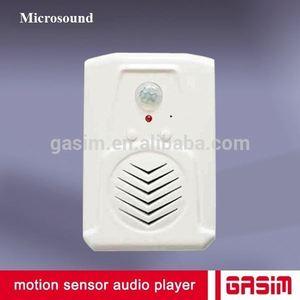 PIR motion sensor mini sound box bird sound mp3 player