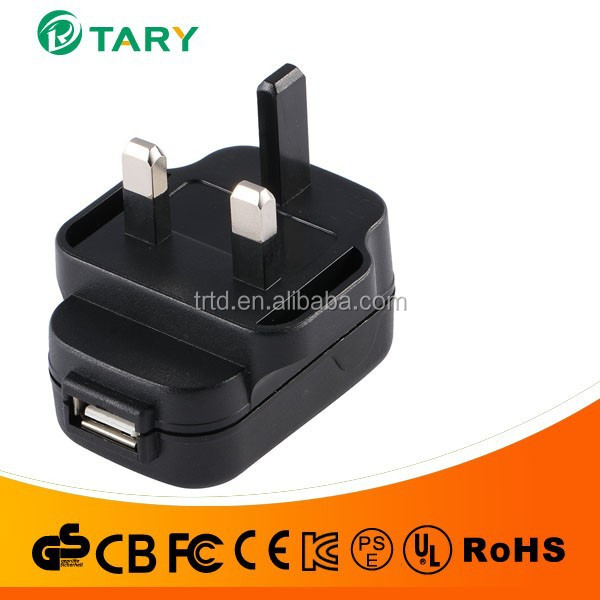 uk mains 9v usb power adapter