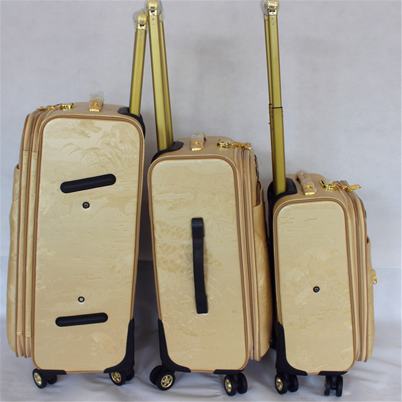 Cheap Leather PU Duffle bag trolley luggage set for travel and business  suitcase b523d219ad8bc