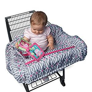 Boppy Shopping Cart and High Chair Cover, Park Gate Pink by Boppy
