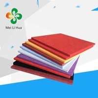 Selling! polyester acoustic panel sound insulation materials for car