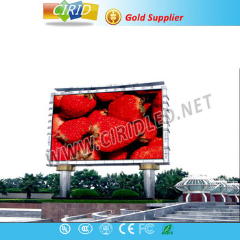 P8 China manufacturer high quality outdoor led screen/led display board/advertising led display outdoor