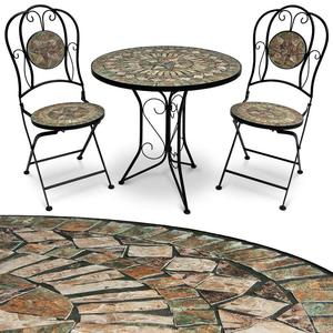 Outdoor Furniture 3pcs outdoor mosaic bistro set
