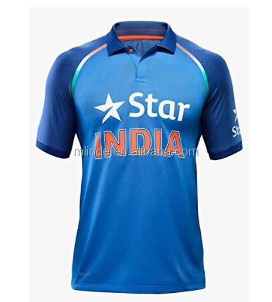 7385bf6901903 Personalizado Cricket Jersey Super Macio Malha Camisa Da Equipe de Críquete  Indiano Projeto Compras Online China