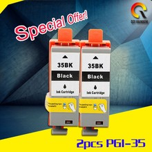 High -end goods with new chip PGI-35 refill ink of compatible ink cartridge for Canon PGI-35