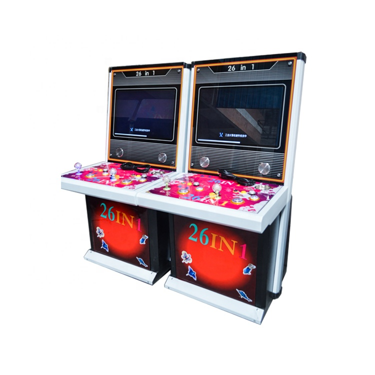 1/2 Spelers Hunter Vis tafel Gokken/Vissen Video Game Machine Met 26 in 1 en Dragon Slayers Fish Game kit