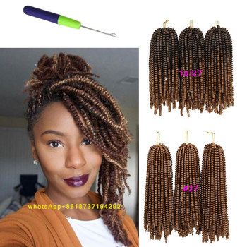 New Arrival 6 8inch Afro Kinky Nubian Twist Crochet Braids With