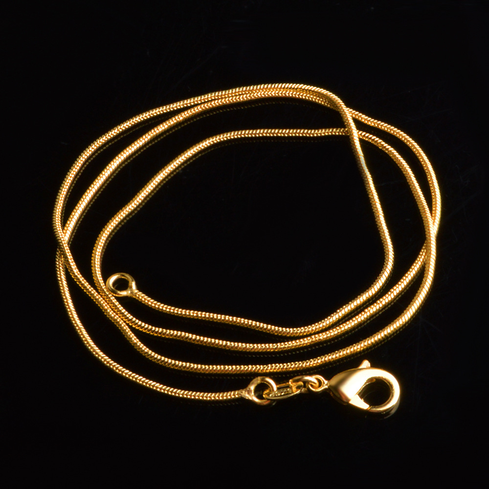 gift men boy length product alluring chain plated handmade gold for good stainless silver chains fashion width necklaces by steel wholesale