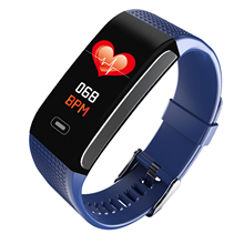 Sport <span class=keywords><strong>Braccialetto</strong></span> <span class=keywords><strong>Intelligente</strong></span> con Frequenza Cardiaca Fitness Tracker Monitor della Pressione Arteriosa Wristband Impermeabile <span class=keywords><strong>Intelligente</strong></span> Orologio Bluetooth
