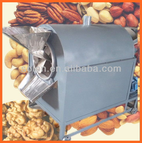 High efficient electric sesame roaster/almond roasting machine/sunflower seed roaster