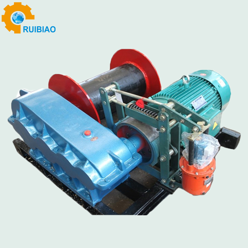 Electric Rope Pulley Hoist Wire Rope Pulling Electric Winch - Buy ...