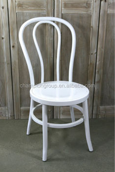 White Aluminum Stacking Chairs / Vintage Metal Stack Chair /white Wedding  Chair, MX