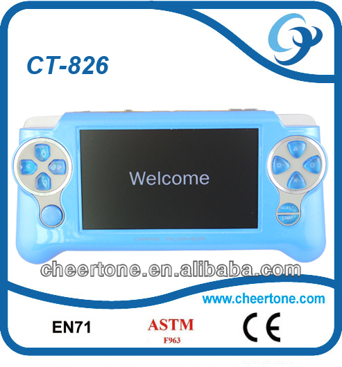 Hot colorful mp4 game console for pocket