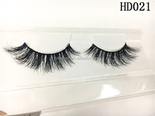 Customized private label mink false eyelash 3D eye lash Qingdao manufacturer