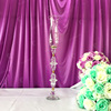 WellStroller brand single head 60cm tall crystal hanging glass bead candle holder