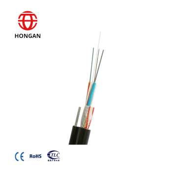 Outdoor Single Messenger Waterblocking Figure 8 Fiber Optical Cable GYFC8Y