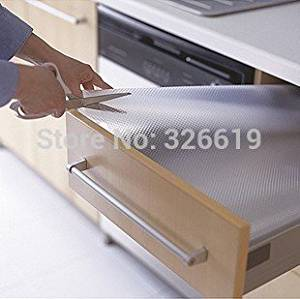 transparent thickening drawer kitchen cabinet moisture-proof pad dining table slip-resistant pad PVC table cloth