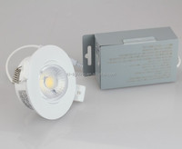 Dimmable 12W gimbal 4 led recessed lighting with junction box