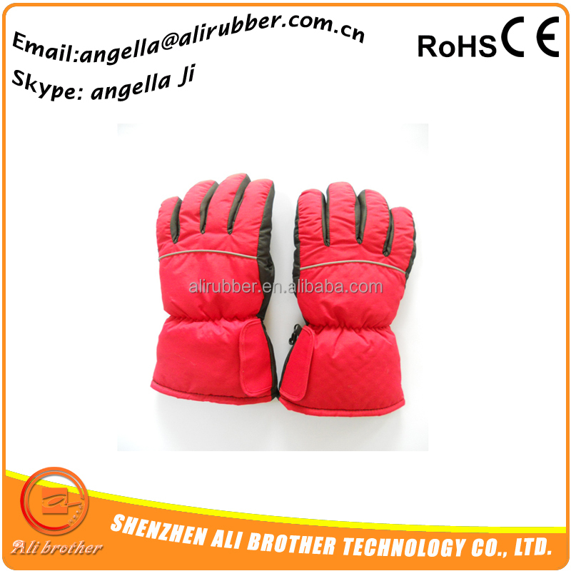 motorcycle heated Battery Powered comfort gloves. High Quality thick leightweight