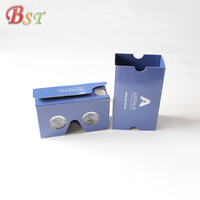 Promotional 2018 trending products newest cardboard 3d glasses