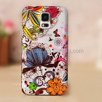 Galaxy S5 Raindrop Design Mobile Phone Back Cover