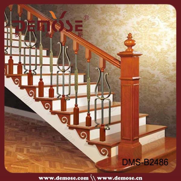 Vintage hierro forjado escalera barandilla buy product - Modelos de escaleras de madera ...