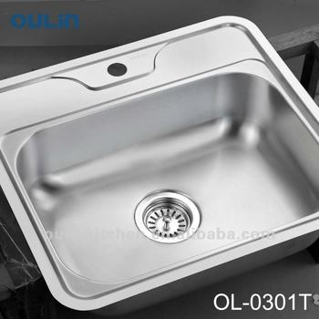 Oulin Vegetable Sink Manufacturer Stainless Steel Kitchen Sink (ol ...