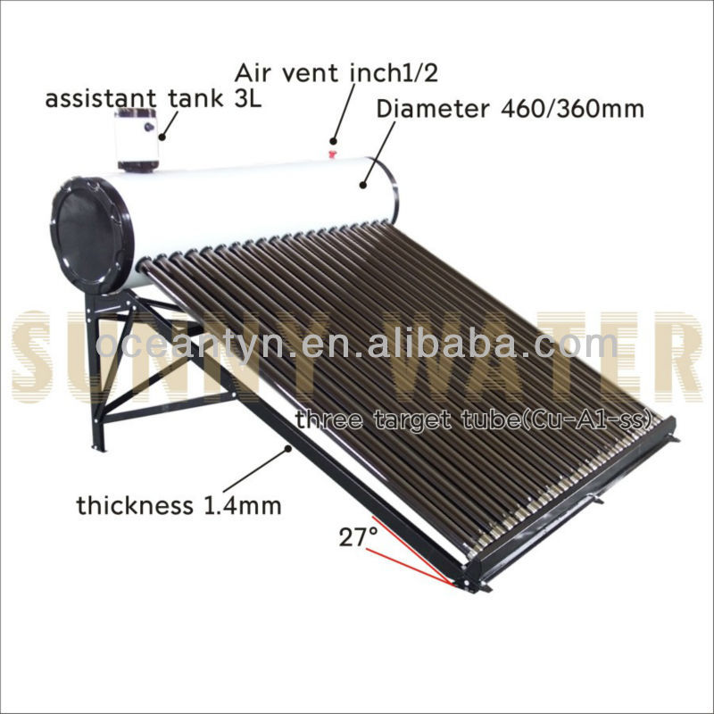 Plat Form Solar Water Collectors