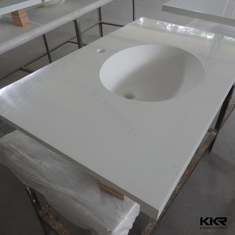 Bathroom Vanity Top With Offset Basin, Bathroom Vanity Top With Offset  Basin Suppliers And Manufacturers At Alibaba