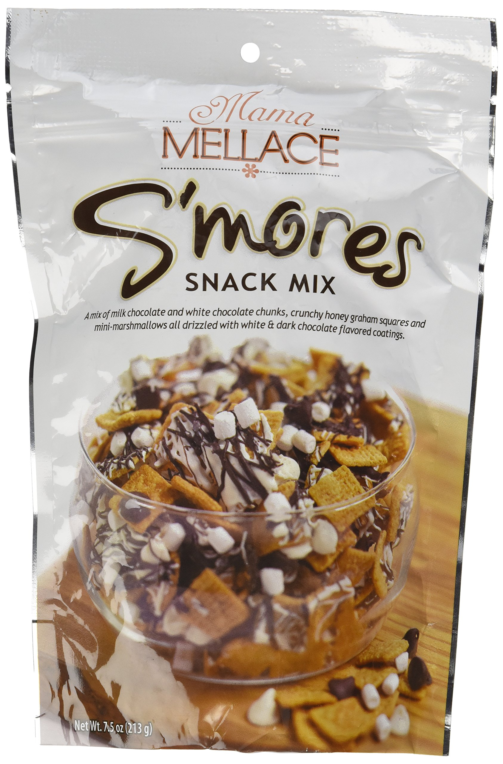 Mama Mellace S'mores Snack Mix 7.5 Oz (Pack of 3)