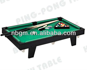 Mini Table Top Billiard Game Table/Pool Table With Leg