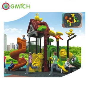 Colorful kindergarten playground tube spiral slides stainless steel playground slide
