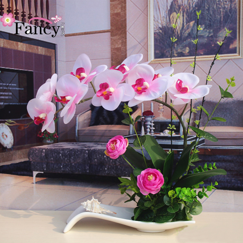 Wedding Decorations artificial plastic orchids orchid thailand for Hotel Decoration
