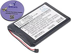 vintrons (TM) Bundle - 1000mAh Replacement Battery For GARMIN Edge 800, Edge 810, + vintrons Coaster